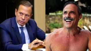 """Famoso ator de novelas da Globo critica Doria, diz que não vai tomar vacina e afirma: """"São Paulo está sendo vendida"""" (veja o vídeo)"""