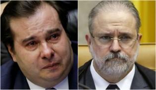 Augusto Aras empareda Rodrigo Maia e reabre inquéritos