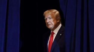 Donald Trump, firme e combativo, até a última instância