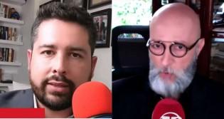 """Neto do general Figueiredo detona jornalista: """"Repita comigo: Biden não foi eleito presidente"""" (veja o vídeo)"""
