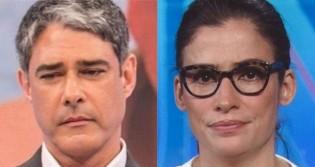 """Ao vivo no JN, Bonner e Renata se """"perdem"""" em problemas técnicos e viraliza na Web (veja o vídeo)"""