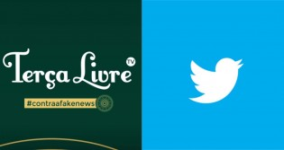 Urgente: Twitter acaba de suspender a conta do Portal Terça Livre