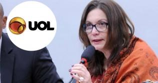 """Site Uol é condenado por """"fake news"""" e terá que indenizar Bia Kicis"""