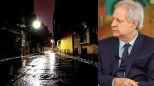 """Augusto Nunes lembra autoridades e """"imbecis em geral"""" que toque de recolher só o presidente pode decretar"""