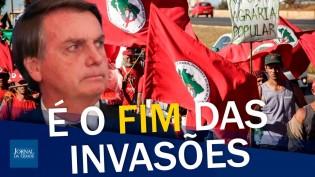 """""""MST, o exército de Lula, acabou! Bolsonaro defende o produtor"""", afirma senador (veja o vídeo)"""