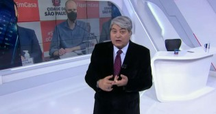 "Datena alfineta Covas: ""Avô deve estar revirando no túmulo"" (veja o vídeo)"