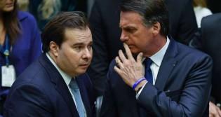 """Maia perde a noção e parte para """"agressão"""" à Bolsonaro e a Arthur Lira"""