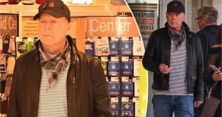 Por não estar usando máscara, Bruce Willis é 'expulso' de farmácia
