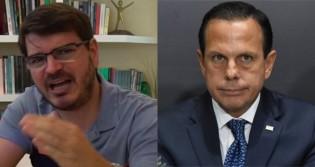 """Constantino dispara: """"Doria é canastrão e tenta tirar o máximo proveito eleitoral da vacina"""""""