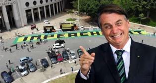 Após fracasso de carreatas da esquerda e do MBL, Bolsonaro esbanja bom humor (veja o vídeo)