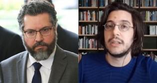 """Chanceler Ernesto Araújo responde ataque de """"esquerdista"""" Joel Pinheiro e o coloca em seu devido lugar (veja o vídeo)"""