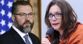 AO VIVO: Ernesto Araújo sob ataque / Jornalista revela podres da esquerda / Bia Kicis na CCJ (veja o vídeo)