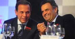 Autoritário, Doria quer afastamento de Aécio do PSDB, por suposta articulação em favor de Lira