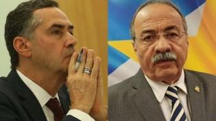 """Com as """"bençãos"""" de Barroso, senador """"Cueca"""" retoma o mandato"""