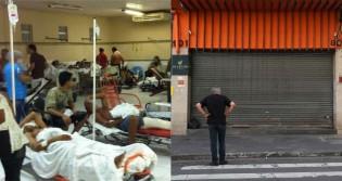 """O colapso no sistema de saúde brasileiro e a extinção em massa das pequenas empresas que resistem """"respirando"""" por aparelhos"""