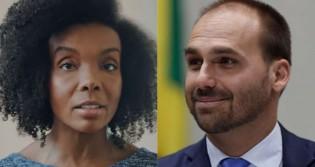 """Médica do """"fique em casa"""" sofre derrota na justiça em ação contra Eduardo Bolsonaro (veja o vídeo)"""