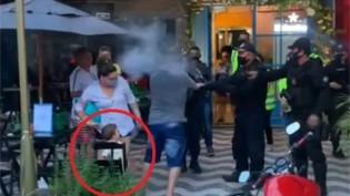 Despreparo total: em Belém, guarda municipal usa spray de pimenta e quase atinge bebê no carrinho (veja o vídeo)