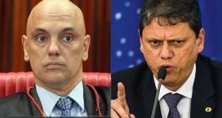 "Moraes atende pedido do PSOL, ""trava"" a infraestrutura e Tarcísio promete recorrer"