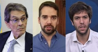 Perdido, Leite escolhe adversários indigestos: Caio Coppola e agora Roberto Jefferson (veja o vídeo)