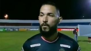 Jogador quase chora ao falar sobre a falta de salários por conta do lockdown (veja o vídeo)