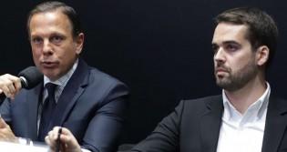 """PSDB """"chuta"""" Doria e Leite"""