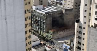 Incêndio atinge prédio da Folha de S.Paulo (veja o vídeo)