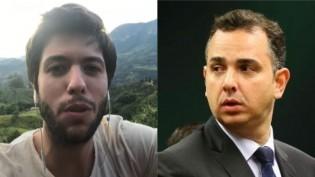 """Caio Coppolla pede """"pressão"""" e Pacheco """"bloqueia"""" perfis nas redes sociais (veja o vídeo)"""