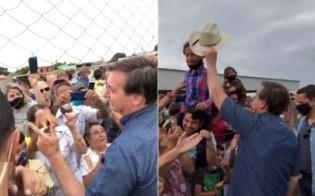 AO VIVO: De surpresa, Bolsonaro vai ao interior de Goiás e é ovacionado pelo povo (veja o vídeo)