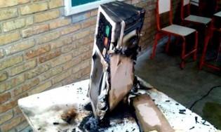 A incineração eletrônica dos votos