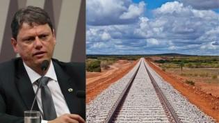 Lobby privado tenta barrar a Ferrogrão, porque ferrovia será o maior regulador de tarifa no Brasil, denuncia Tarcísio