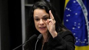 """""""Nem amarrada, voto no PT"""", dispara Janaína Paschoal sobre decisão do PSL"""