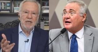 Alexandre Garcia escancara hipocrisia de Renan Calheiros