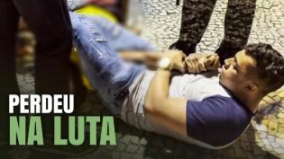 """Bandido do Comando Vermelho ataca Gabriel Monteiro, leva """"surra"""" e acaba preso (veja o vídeo)"""