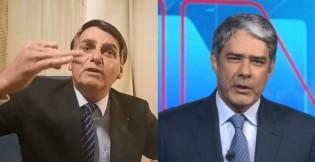 """Bolsonaro detona o Jornal Nacional: """"Não assisto essa porcaria"""" (veja o vídeo)"""