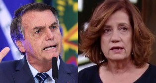 """Bolsonaro relembra episódio com Miriam Leitão e ironiza """"globolixo"""": """"Lixo é reciclável. Aquele curral cheio de esterco não serve pra nada"""" (veja o vídeo)"""