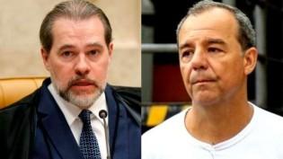 """O """"flagrante"""" da mudança de voto de Toffoli, motivo pelo qual foi delatado por Cabral (veja o vídeo)"""
