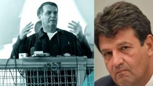 """Na terra de Mandetta, Bolsonaro não perdoa e o povo aprova: """"Perneta"""" (veja o vídeo)"""
