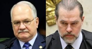 """Fachin autorizou PF a investigar Toffoli, """"inexplicavelmente"""" recuou e proibiu qualquer busca de provas (veja o vídeo)"""