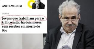 """Secretário de Cultura resgata matéria de Ancelmo Gois de O Globo e escancara """"decadência moral"""""""