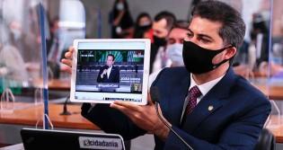 """Senador derruba """"narrativa"""", desmascara governadores e causa alvoroço na CPI (veja o vídeo)"""