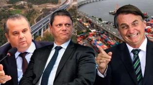 O atual governo não banca ditaduras, faz obras em todo o Brasil e conclui projetos que há anos estavam parados (veja o vídeo)