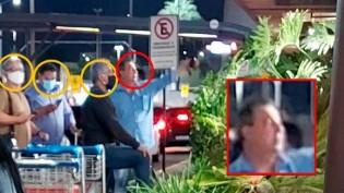 Foto de Aziz, flagrado sem máscara em local público, viraliza na Web e expõe hipocrisia