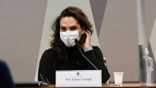 Cúpula da CPI coage a maior parte dos depoentes, mas afaga Luana Araújo que ofende colegas cientistas (veja o vídeo)