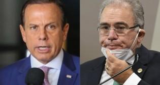 Doria ataca o Governo e leva resposta desmoralizante do ministro da Saúde