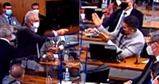 """CPI pega """"fogo"""": Marcos Rogério e Otto Alencar quase chegam às vias de fato (veja o vídeo)"""