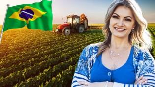 Safra recorde e PIB decolando: Entrevista com deputada Aline Sleutjes, presidente da Comissão de Agricultura (veja o vídeo)