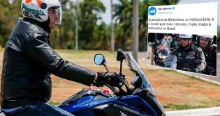 "Por ""medo"" de Bolsonaro, extrema-imprensa ""cancela"" motos"