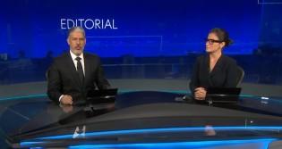 """Em """"desespero"""", Bonner dá palanque a """"esquerdalha"""" e dedica mais de 5 minutos aos protestos em ataque a Bolsonaro (veja o vídeo)"""