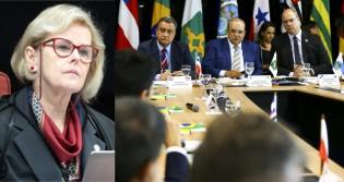 URGENTE: Rosa Weber livra cara de governadores em CPI e escancara que combate à corrupção não é o foco