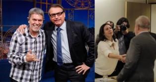 Roger versus Mônica Bergamo e a matemática de esquerda: A foto em que 4 operários estariam homenageando Lula... (veja o vídeo)